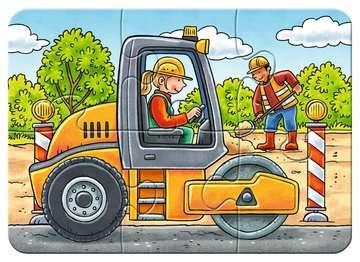 Meine liebsten Baustellenfahrzeuge Puslespil;Puslespil for børn - Billede 4 - Ravensburger