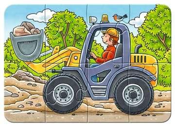 Meine liebsten Baustellenfahrzeuge Puslespil;Puslespil for børn - Billede 5 - Ravensburger