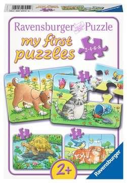 06951 Kinderpuzzle Niedliche Haustiere von Ravensburger 1