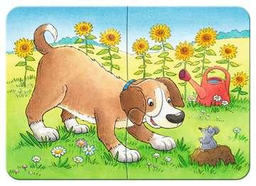 Cute Pets                 2/4/6/8p Puslespil;Puslespil for børn - Billede 3 - Ravensburger