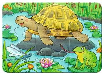 06951 Kinderpuzzle Niedliche Haustiere von Ravensburger 5