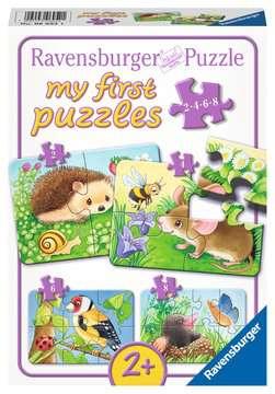 06952 Kinderpuzzle Süße Gartenbewohner von Ravensburger 1