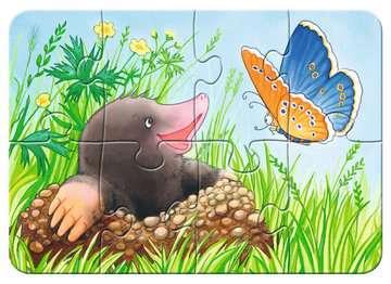 Süße Gartenbewohner Puslespil;Puslespil for børn - Billede 3 - Ravensburger