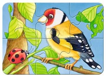 06952 Kinderpuzzle Süße Gartenbewohner von Ravensburger 5