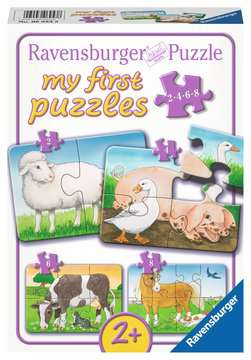 Liebenswerte Bauernhoftiere Baby und Kleinkind;Puzzles - Bild 1 - Ravensburger