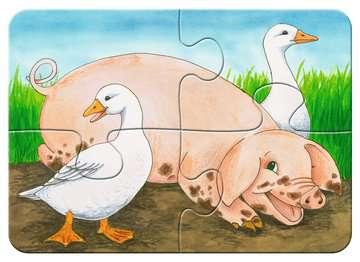 Liebenswerte Bauernhoftiere Baby und Kleinkind;Puzzles - Bild 3 - Ravensburger