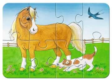 Liebenswerte Bauernhoftiere Baby und Kleinkind;Puzzles - Bild 5 - Ravensburger
