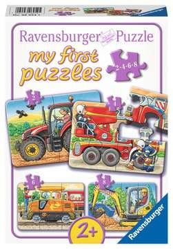 06954 Kinderpuzzle Bei der Arbeit von Ravensburger 1