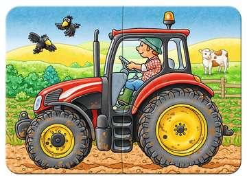 06954 Kinderpuzzle Bei der Arbeit von Ravensburger 3