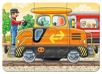 06954 Kinderpuzzle Bei der Arbeit von Ravensburger 5