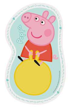 Peppa Pig Four Large Shaped Puzzles Puzzles;Children s Puzzles - image 2 - Ravensburger