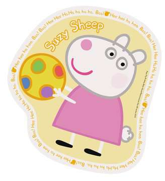 Peppa Pig Four Large Shaped Puzzles Puzzles;Children s Puzzles - image 3 - Ravensburger