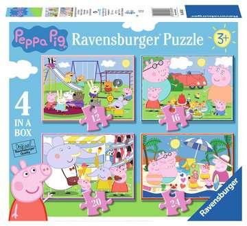 Peppa Pig 4 in Box Puzzles;Children s Puzzles - image 1 - Ravensburger