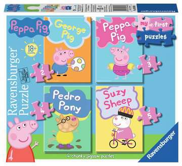 Peppa Pig My First Puzzles Puzzles;Children s Puzzles - image 1 - Ravensburger