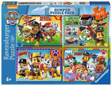 PSI PATROL 4X42EL BUMPER Puzzle;Puzzle dla dzieci - Zdjęcie 1 - Ravensburger
