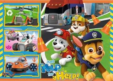 PSI PATROL 4X42EL BUMPER Puzzle;Puzzle dla dzieci - Zdjęcie 3 - Ravensburger
