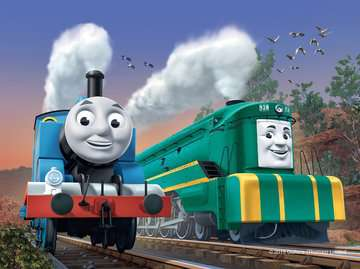 Thomas & Friends Big World Adventures 4 in a Box Puzzles;Children s Puzzles - image 2 - Ravensburger
