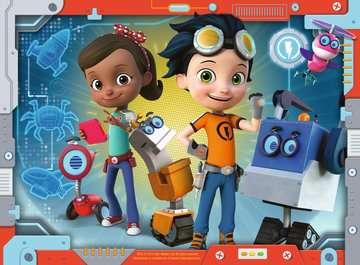 Rusty Rivets 4 v 1 2D Puzzle;Dětské puzzle - obrázek 5 - Ravensburger