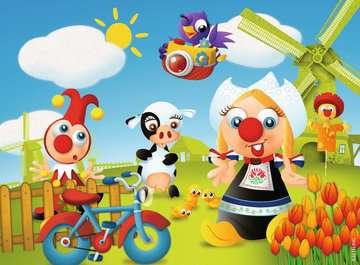 Jokie reist om de wereld Puzzels;Puzzels voor kinderen - image 2 - Ravensburger