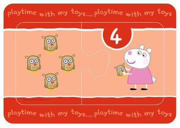 Peppa Pig My First Match and Count Puzzles, 9 x2pc Puzzles;Children s Puzzles - image 4 - Ravensburger