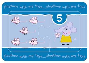 Peppa Pig My First Match and Count Puzzles, 9 x2pc Puzzles;Children s Puzzles - image 5 - Ravensburger