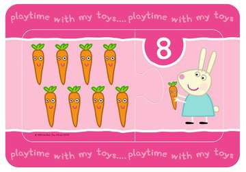 Peppa Pig My First Match and Count Puzzles, 9 x2pc Puzzles;Children s Puzzles - image 8 - Ravensburger