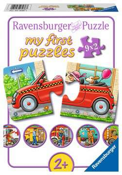 07036 Kinderpuzzle Allerlei Fahrzeuge von Ravensburger 1