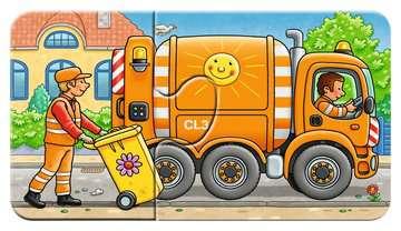 07036 Kinderpuzzle Allerlei Fahrzeuge von Ravensburger 2