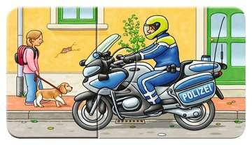 07036 Kinderpuzzle Allerlei Fahrzeuge von Ravensburger 5