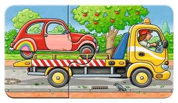 07036 Kinderpuzzle Allerlei Fahrzeuge von Ravensburger 6