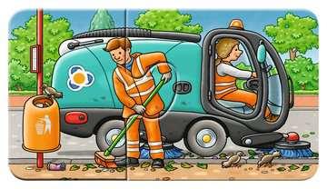 07036 Kinderpuzzle Allerlei Fahrzeuge von Ravensburger 8