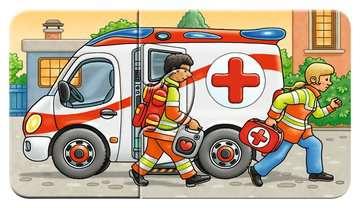 07036 Kinderpuzzle Allerlei Fahrzeuge von Ravensburger 9