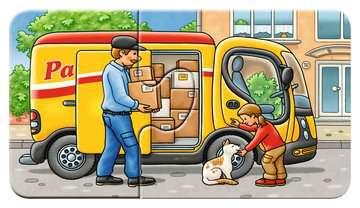 07036 Kinderpuzzle Allerlei Fahrzeuge von Ravensburger 10