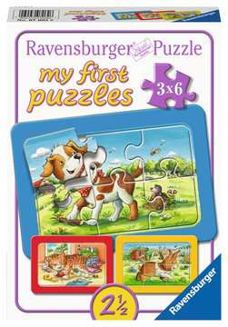 Meine Tierfreunde Puzzle;Kinderpuzzle - Bild 1 - Ravensburger