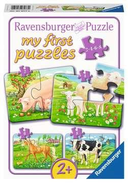 Unsere Lieblingstiere Puzzle;Kinderpuzzle - Bild 1 - Ravensburger
