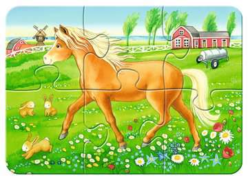 Favourite Animals! Puslespil;Puslespil for børn - Billede 4 - Ravensburger
