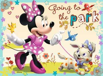 Myška Minnie 4 v 1 2D Puzzle;Dětské puzzle - obrázek 3 - Ravensburger