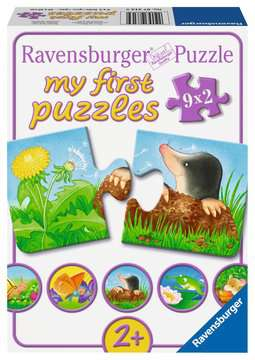 07313 Kinderpuzzle Tiere im Garten von Ravensburger 1