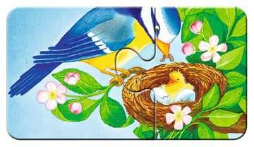 07313 Kinderpuzzle Tiere im Garten von Ravensburger 11