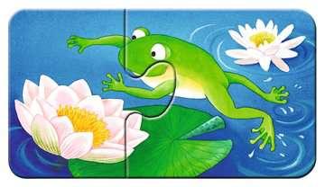 07313 Kinderpuzzle Tiere im Garten von Ravensburger 4