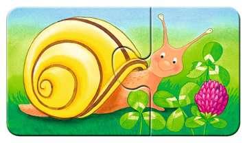 07313 Kinderpuzzle Tiere im Garten von Ravensburger 5