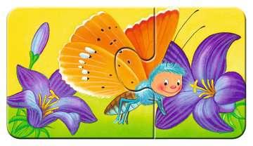 07313 Kinderpuzzle Tiere im Garten von Ravensburger 6