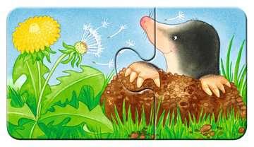 07313 Kinderpuzzle Tiere im Garten von Ravensburger 7