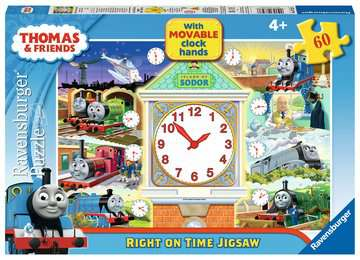 Thomas Right on Time Puzzle, 60pc Puzzles;Children s Puzzles - image 1 - Ravensburger