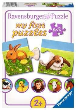 Lieve dieren / Animaux sympathiques Puzzle;Puzzles enfants - Image 1 - Ravensburger