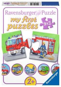 07332 Kinderpuzzle Einsatzfahrzeuge von Ravensburger 1