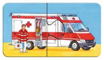 07332 Kinderpuzzle Einsatzfahrzeuge von Ravensburger 11