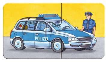 07332 Kinderpuzzle Einsatzfahrzeuge von Ravensburger 7