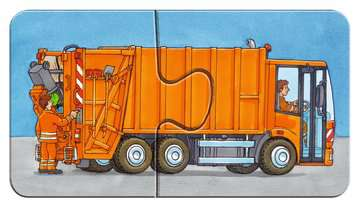 07332 Kinderpuzzle Einsatzfahrzeuge von Ravensburger 8