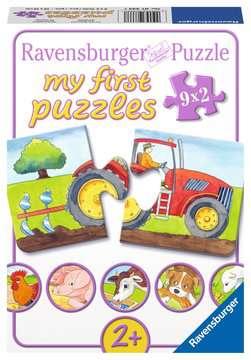 07333 Kinderpuzzle Auf dem Bauernhof von Ravensburger 1